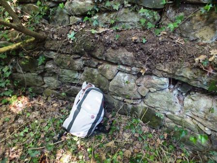 Restes del pou de glaç de Vall-llobera (Tona)
