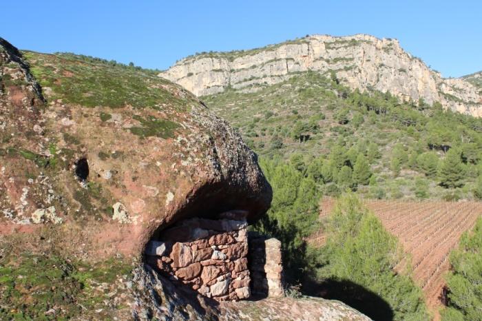 Eremitori del Tormo del Frare (la Vilella Alta, Priorat)